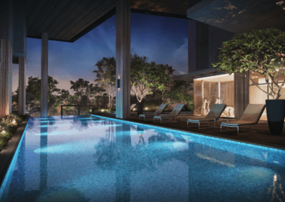 Mont Botanik Residence_ amenities_Lap Pool