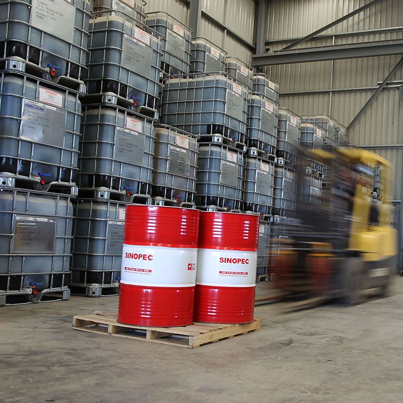 forklift lifting sinopec products