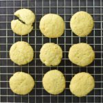Alchemy Premix Cookies on baking tray