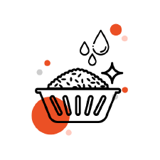 wash rice icon