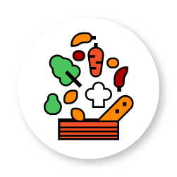 food healthier ingredients icon