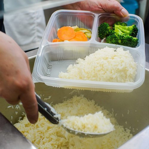Boon Tong kee rice meal packing