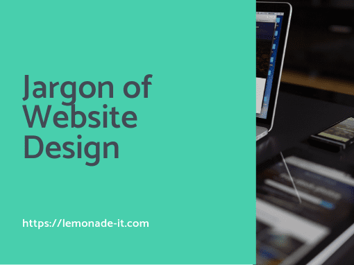 Jargon of Website Design
