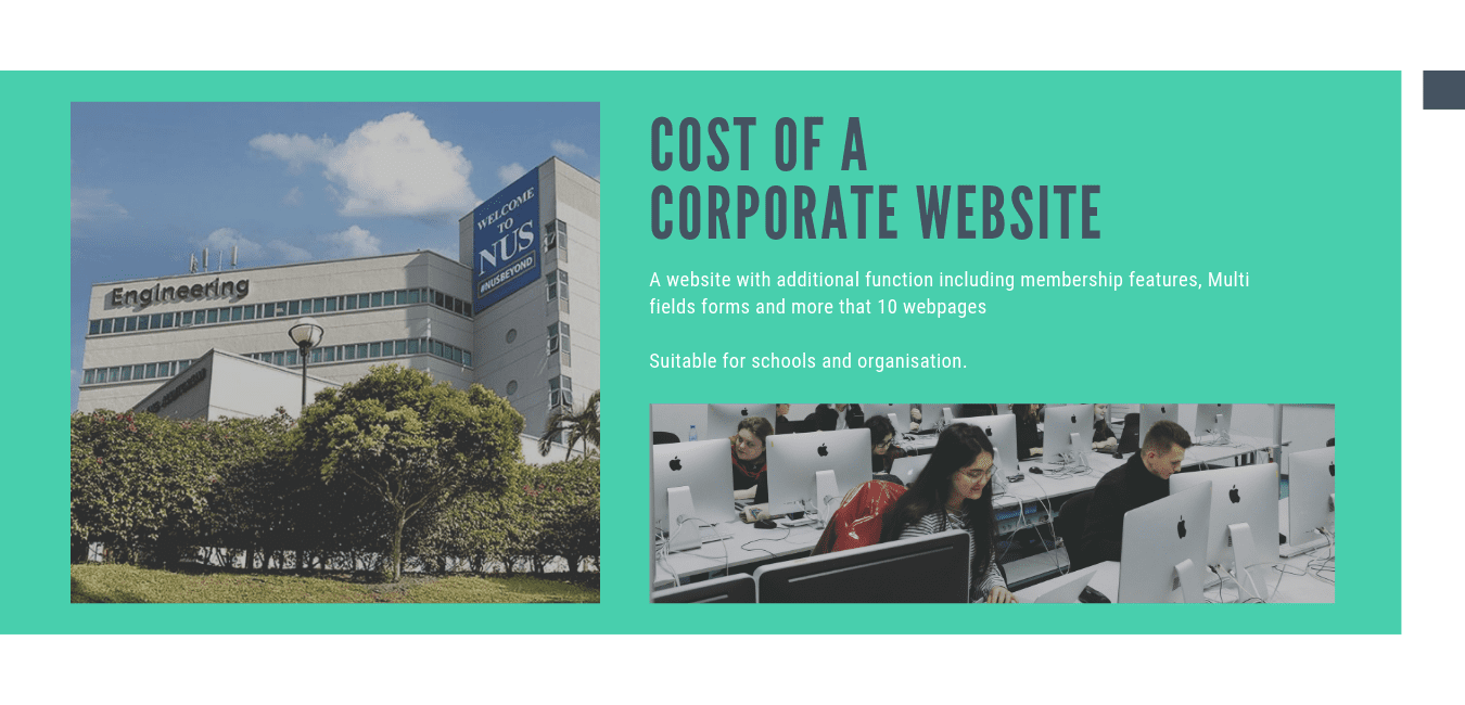 Cost of Web Design in Singapore for 2019 4 | Lemonade - Web Design Singapore