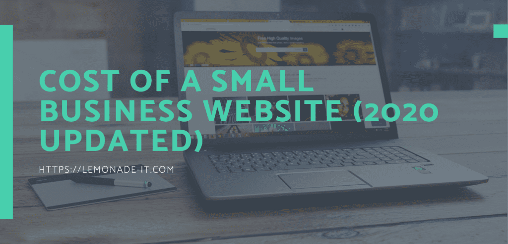 Cost of Small Business Website 2020 Updated