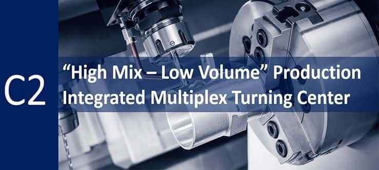"""""""High Mix – Low Volume"""" Production"""